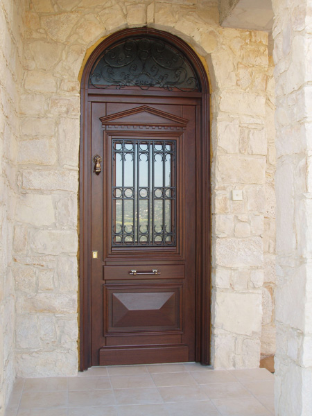 Massif main entrance doors Main entrance door grill